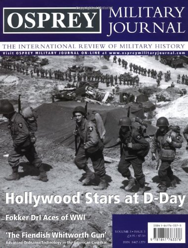 Osprey Military Journal Issue 3/3: The International Review of Military History: Cowper, ...