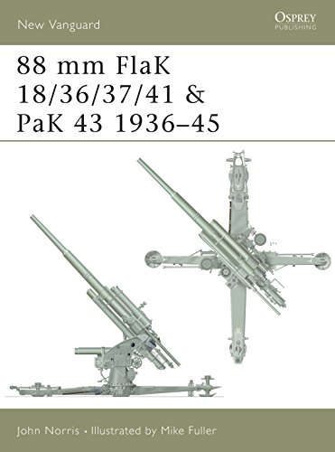 9781841763415: 88 mm FlaK 18/36/37/41 and PaK 43 1936-45 (New Vanguard)