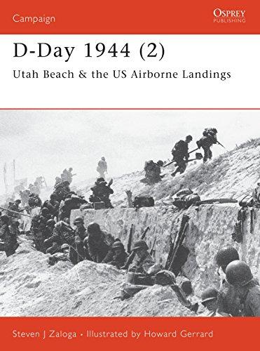 9781841763651: D-Day 1944 (2): Utah Beach & the US Airborne Landings: Utah Beah and US Airborne Landings Pt.2 (Campaign)