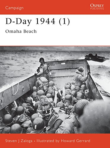 9781841763675: D-Day 1944 (1): Omaha Beach