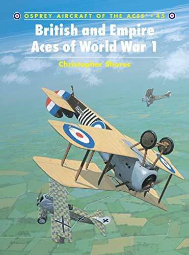 9781841763774: British and Empire Aces of World War I (Osprey Aircraft of the Aces No 45)
