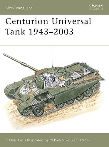 9781841763873: Centurion Universal Tank 1943-2003: 68 (New Vanguard)