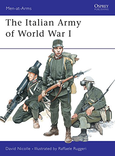 9781841763989: The Italian Army of World War I (Men-at-Arms)