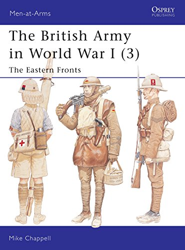 9781841764016: The British Army in World War I (3): The Eastern Fronts (Men-at-Arms)