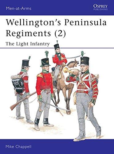 9781841764030: Wellington's Peninsula Regiments (2): The Light Infantry