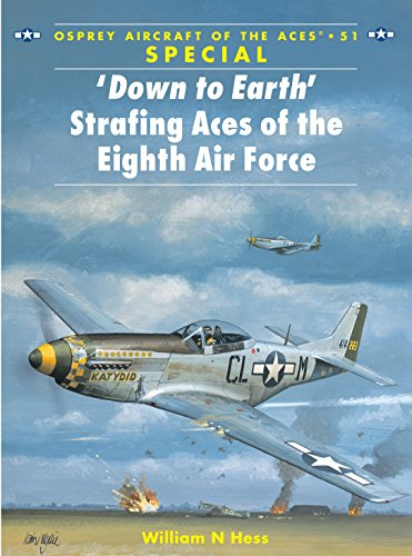 Down to Earth Strafing Aces of the Eighth Air Force (Osprey Aircraft of the Aces 51) SPECIAL