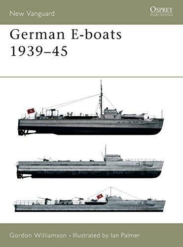 9781841764450: German E-boats 1939-45 (New Vanguard)