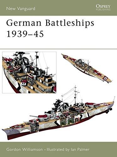 9781841764986: German Battleships 1939-45 (New Vanguard)