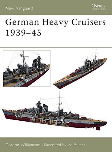 9781841765020: German Heavy Cruisers 1939–45 (New Vanguard)
