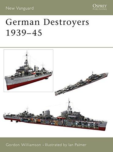 9781841765044: German Destroyers 1939–45 (New Vanguard)