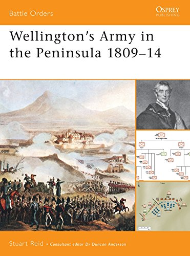 9781841765174: Wellington's Army in the Peninsula 1809-14 (Battle Orders)