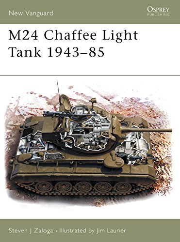 9781841765402: M24 Chaffee Light Tank 1943–85 (New Vanguard)