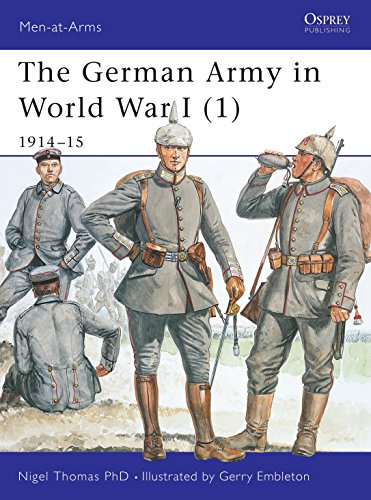 9781841765655: The German Army in World War I (1): 1914-15