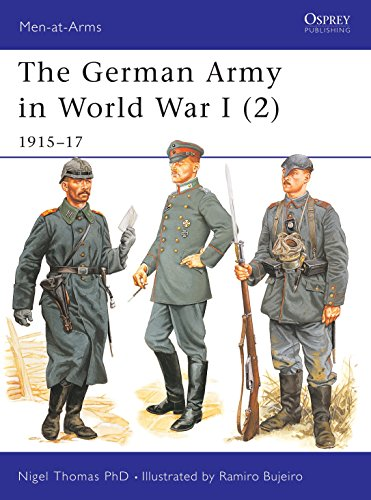 9781841765662: The German Army in World War I (2): 1915–17 (Men-at-Arms)