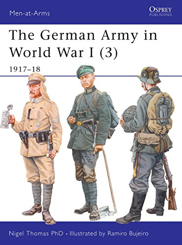9781841765679: The German Army in World War I (3): 1917-18: v. 3 (Men-at-Arms)