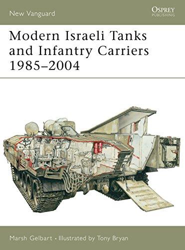 Modern Israeli Tanks and Infantry Carriers 1985: Marsh Gelbart