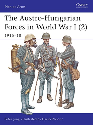 9781841765952: The Austro-Hungarian Forces in World War I (2): 1916-18: 1916-18 v. 2 (Men-at-Arms)