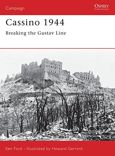 9781841766232: Cassino 1944: Breaking the Gustav Line (Campaign)