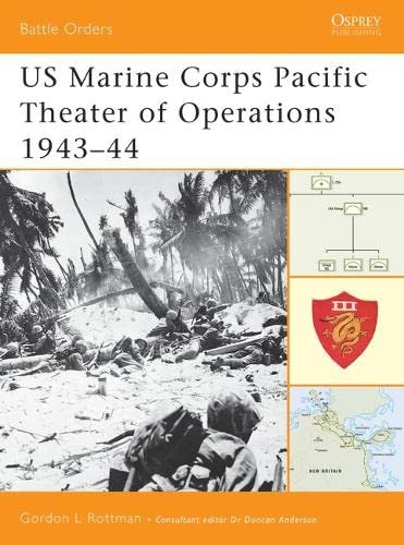 9781841766515: US Marine Corps Pacific Theater of Operations 1943–44 (Battle Orders) (v. 2)