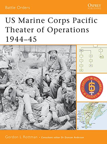 9781841766591: US Marine Corps Pacific Theater of Operations 1944-45 (Battle Orders)