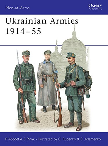 9781841766683: Ukrainian Armies 1914-55 (Men-at-Arms)