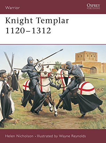 9781841766706: Knight Templar 1120-1312 (Warrior)