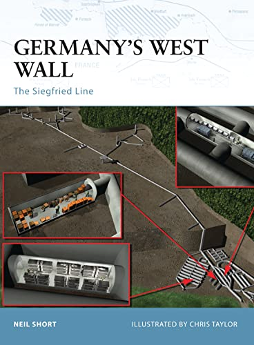 9781841766782: Germany's West Wall: The Siegfried Line (Fortress)