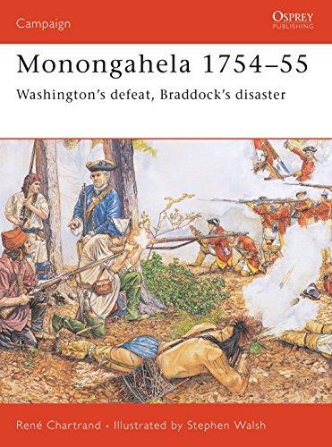 9781841766836: Monongahela 1754–55: Washington's defeat, Braddock's disaster (Campaign)