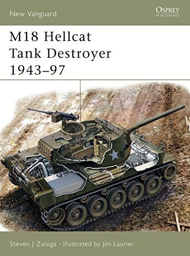 9781841766874: M18 Hellcat Tank Destroyer 1943–97 (New Vanguard)