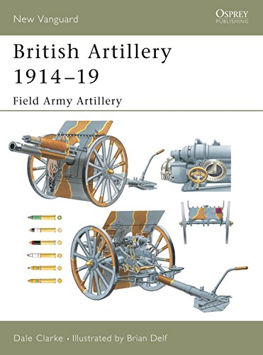 9781841766881: British Artillery 1914–19: Field Army Artillery (New Vanguard)