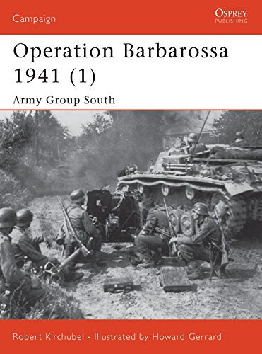9781841766973: Operation Barbarossa 1941 (1): Army Group South: Army Group South Pt. 1 (Campaign)