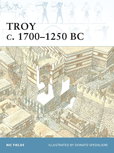 9781841767031: Troy C. 1700-1250 BC (Fortress, 17)