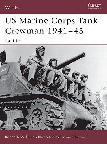 9781841767178: US Marine Corps Tank Crewman 1941–45: Pacific (Warrior)