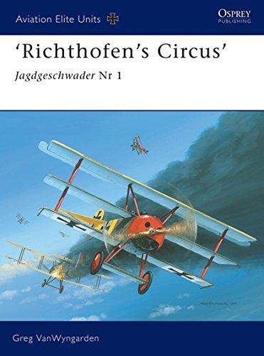 9781841767260: 'Richthofen's Circus': Jagdgeschwader Nr 1 (Aviation Elite Units)