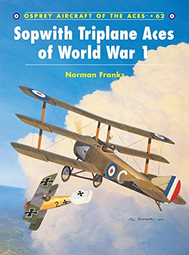 9781841767284: Sopwith Triplane Aces of World War 1 (Aircraft of the Aces)