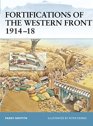9781841767604: Fortifications of the Western Front 1914–18 (Fortress)