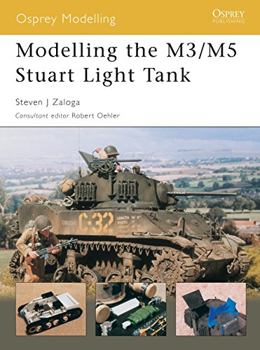 9781841767635: Modelling the M3/M5 Stuart Light Tank