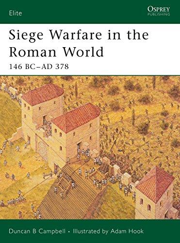 9781841767826: Siege Warfare in the Roman World: 146 BC-AD 378 (Elite)