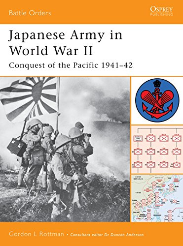 JAPANESE ARMY IN WORLD WAR II: CONQUEST OF THE PACIFIC, 1941-42 (BATTLE ORDERS SERIES, NO. 9): ...