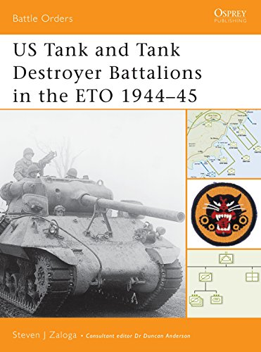9781841767987: US Tank and Tank Destroyer Battalions in the ETO 1944-45 (Battle Orders)