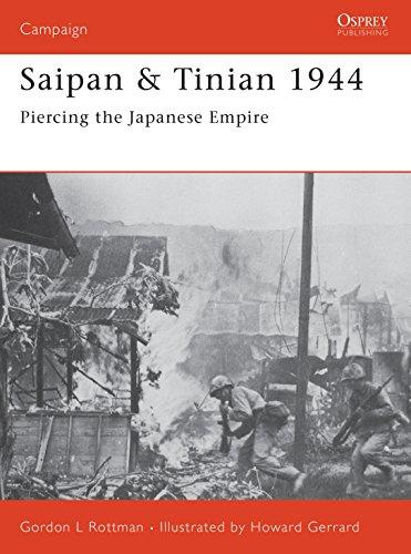9781841768045: Saipan & Tinian 1944: Piercing the Japanese Empire (Campaign)