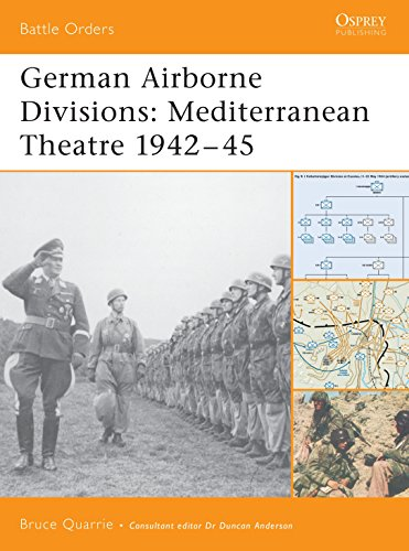 9781841768281: German Airborne Divisions: Mediterranean Theatre 1942–45 (Battle Orders)