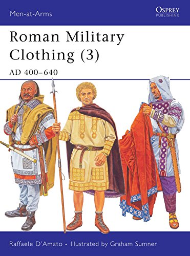 9781841768434: Roman Military Clothing (3): AD 400-640 (Men-at-Arms) (v. 3)