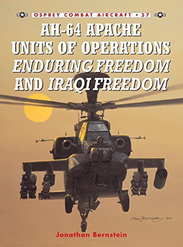 9781841768489: AH-64 Apache Units of Operations Enduring Freedom & Iraqi Freedom (Combat Aircraft)