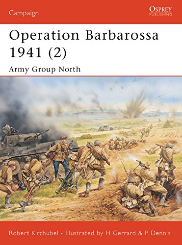 9781841768571: Operation Barbarossa 1941 (2): Army Group North: v. 2 (Campaign)