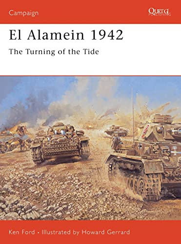 9781841768670: El Alamein 1942: The Turning of the Tide (Campaign)