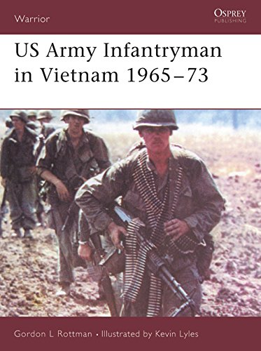 9781841768878: US Army Infantryman in Vietnam 1965–73 (Warrior)