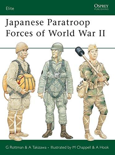 9781841769035: Japanese Paratroop Forces of World War II (Elite)