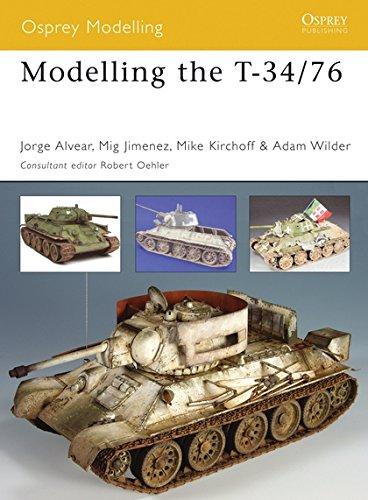 9781841769295: Modelling the T-34/76 (Osprey Modelling)