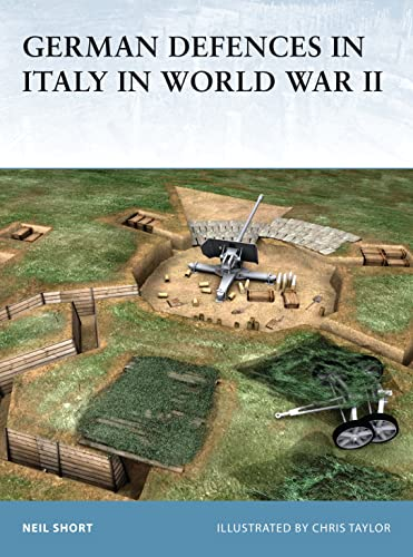 9781841769387: German Defences in Italy in World War II (Fortress)
